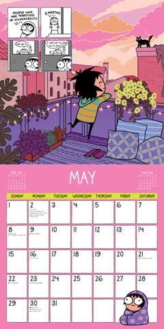 Adulthood is a Myth: Sarah's Scribbles Square 2022 Calendar - 2
