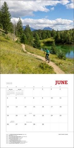 World's Most Beautiful Bike Rides Square 2022 Calendar - 2