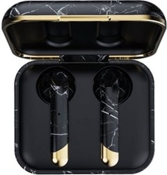 Happy Plugs Air1 Black Marble True Wireless Bluetooth Headset - 4