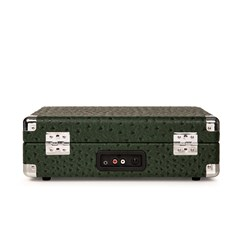 Crosley Cruiser Deluxe Green Ostrich Turntable - 5