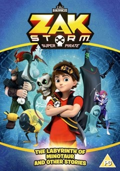 Zak Storm: Super Pirate - The Labyrinth of the Minotaur And... - 1