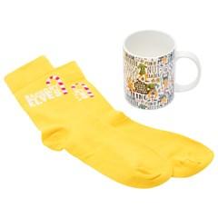 Elf Mug & Socks Gift Set - 2