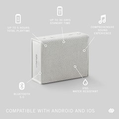 Urbanista Sydney White Mist Bluetooth Speaker - 3