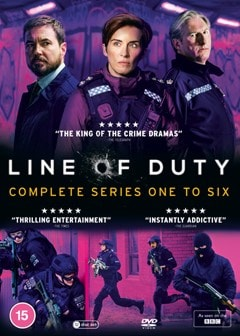 Line of Duty: Complete Series One to Six - 2