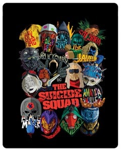 The Suicide Squad (hmv Exclusive) Limited Edition 4K Ultra HD Steelbook - 5