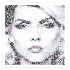 Debbie Harry: Text Me: Limited Edition Fine Art Print By Mike Edwards - 1