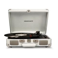 Crosley Cruiser Deluxe White Sand Turntable - 1