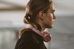 Fresh N Rebel Code ANC Dusty Pink Active Noise Cancelling Bluetooth Headphones - 5