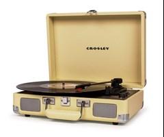 Crosley Cruiser Deluxe Fawn Turntable - 1