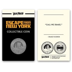 Escape From New York: Collector's Coin - 1