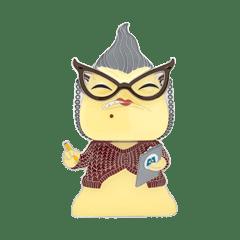 Roz: Monsters Inc Funko Pop Pin - 1