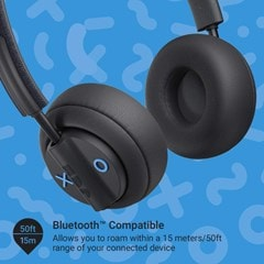 Jam Out There Black Active Noise Cancelling Bluetooth Headphones - 3