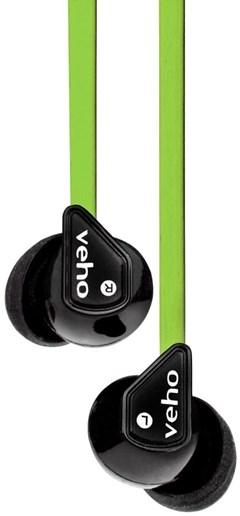 Veho Z1 Green Earphones - 1