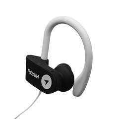 Roam Sport Ear Hook White Bluetooth Earphones - 2