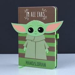 The Mandalorian: I'm All Ears (Green) Premium A5 Notebook - 1