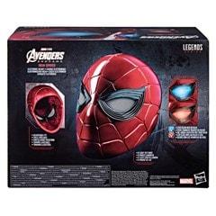 Iron Spider: Spider-Man Hasbro Marvel Legends Series Electronic Helmet - 10