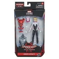 Gwen Stacy: Spider-Man: Into The Spider-Verse Marvel Legends Action Figure With Spider-Ham - 3