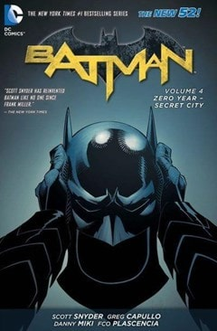 Batman: Vol. 4: Zero Year Secret City (The New 52) - 1