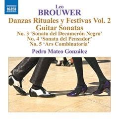 Leo Brouwer: Danzas Rituales Y Festivas - Volume 2 - 1