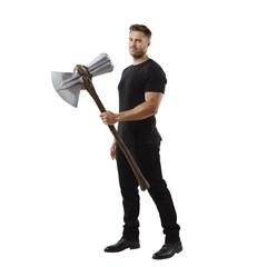 Thor Stormbreaker Electronic Axe: Hasbro Marvel Avengers Endgame - 9