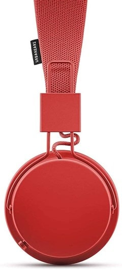 Urbanears Plattan II Tomato Red Bluetooth Headphones - 3