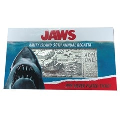 Jaws: Silver Plated Ticket Metal Replica (online only) - 4