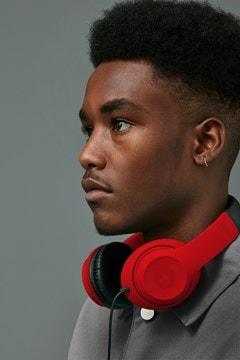 Roam Colours Plus Red Headphones W/Mic - 3