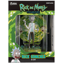 Rick: Rick and Morty Figurine: Hero Collector - 3