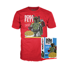 Boba Fett: Star Wars Funko Cereal Box Tee (Small) - 1