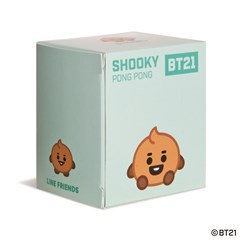 Shooky Baby Pong Pong: BT21 Soft Toy - 3