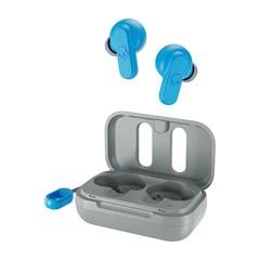 Skullcandy Dime Light Grey/Blue True Wireless Bluetooth Earphones - 1