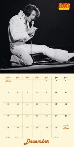 Elvis Collectors Edition Record Sleeve 2022 Calendar - 3