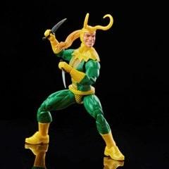Loki: Retro Hasbro Marvel Legends Series Action Figure - 3