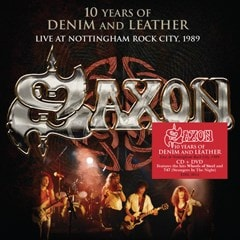 10 Years of Denim and Leather: Live at Nottingham Rock City 1989 - 1