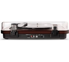 Ion Max LP Dark Wood USB Conversion Turntable - 4