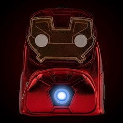 Iron Man: Light-Up Mini Loungefly Backpack - 3