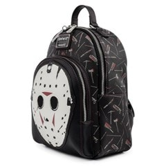 Friday the 13th: Jason Mask Mini Loungefly Backback - 2
