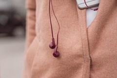 Fresh N Rebel Flow Ruby Red Earphones - 4