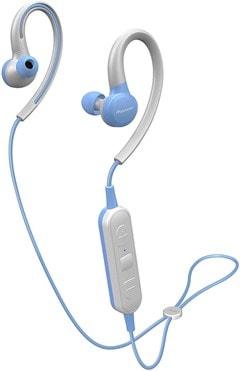 Pioneer E6 Blue Sports Bluetooth Earphones - 1