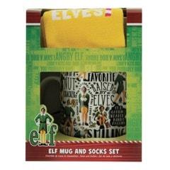Elf Mug & Socks Gift Set - 1