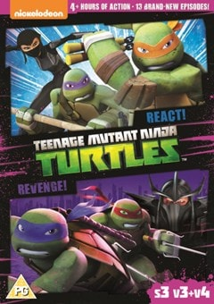 Teenage Mutant Ninja Turtles: React!/Revenge! - Season 3... - 1