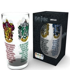 Harry Potter: House Crests Large Glass - 1