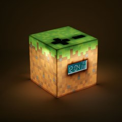 Minecraft Alarm Clock - 2