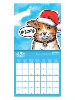 Cute But Abusive: Square 2022 Calendar - 2
