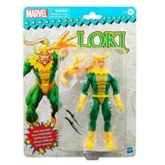 Loki: Retro Hasbro Marvel Legends Series Action Figure - 12