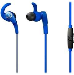 Audio Technica ATH-CKX7IS Sonic Fuel Blue Earphones W/Mic - 1