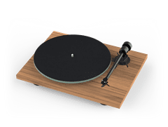 Pro-Ject T1 BT Walnut Bluetooth Turntable - 1