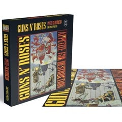 Guns N Roses - Appetite For Destruction 1: 500 Piece Jigsaw Puzzle - 1