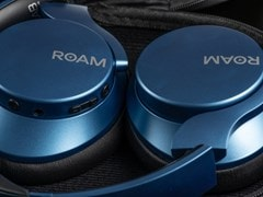 Roam R-Lab Metallic Blue Bluetooth Active Noise Cancelling Headphones - 3