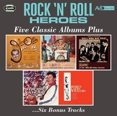 Rock 'N' Roll Heroes: Five Classic Albums Plus - 1